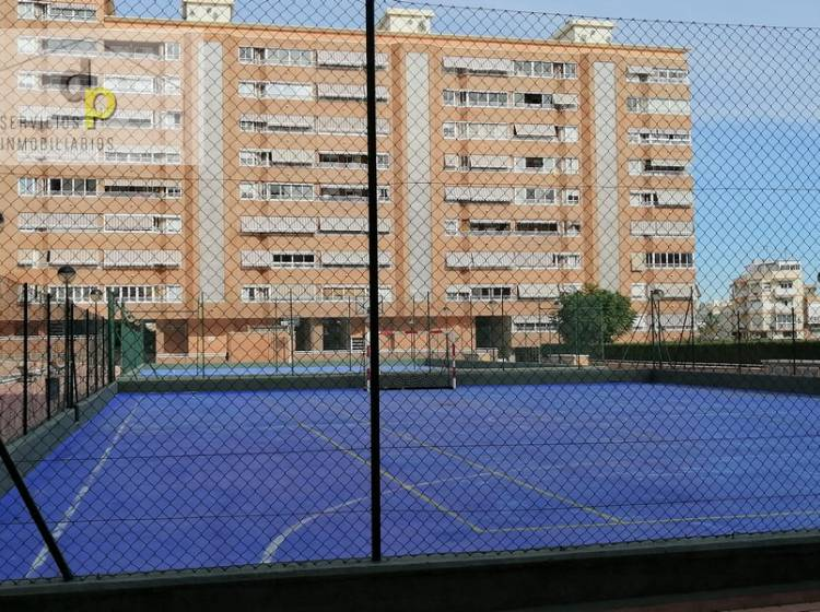 common areas: sports courts